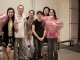 Pianovers Meetup #26 (Valentine's Day Themed), Elyn, Yong Meng, MJ, Siew Tin, May Ling, and Audrey
