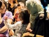Pianovers Meetup #27, Jin Li high-five with Mentari