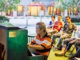 Pianovers Meetup #28, Albert performing