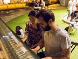 Pianovers Meetup #28, Vanessa and Mitch playing together