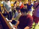 Pianovers Meetup #28, Alex jamming with Zafri