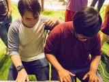 Pianovers Meetup #28, Alex, and Zafri playing