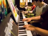 Pianovers Meetup #28, Alex, and Zafri playing