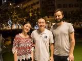 Pianovers Meetup #28, Vanessa, Yong Meng, and Mitch