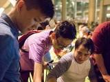 Pianovers Meetup #28, Dominic, Wen Jun, and Alex