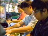 Pianovers Meetup #29, Alex, Ace, and Zafri performing together