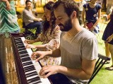 Pianovers Meetup #29, Vanessa and Mitchell jamming