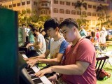 Pianovers Meetup #29, Deni and Alex jamming