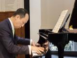 Conferment Ceremony of Steinway Artist, Benjamin Loh, Benjamin plays the piano