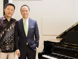 Conferment Ceremony of Steinway Artist, Benjamin Loh, Leng Tshua and Benjamin Loh