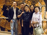 Brilliant Talent Discovery Awards, Winner's Gala Concert, Yong Meng, George, and his family