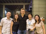 Pianovers Meetup #33, with Adam Gyorgy, Yong Meng, Elyn, Adam, Lynda, and Tinaga
