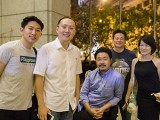 Pianovers Meetup #33, with Adam Gyorgy, Gregory, Yong Meng, Jerome, Gee Yong, and Julia