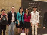 Adam Gyorgy Concert with Pianovers, Siew Tin, Yong Meng, May Ling, Audrey, and Joseph