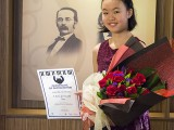 Recital by Christabel Lee, Christabel with Certificate