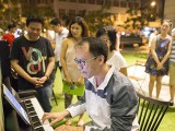 Pianovers Meetup #35, William playing