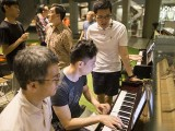 Pianovers Meetup #37, Isao, Wenqing, and Gerald