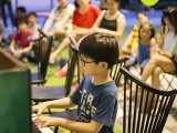 Pianovers Meetup #38, Asher performing