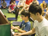 Pianovers Meetup #38, Asher and Ian performing