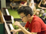 Pianovers Meetup #38, Zhi Yuan performing