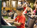 Pianovers Meetup #38, Wesley performing