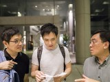 Pianovers Meetup #39, Gerald, Wenqing, and Chris