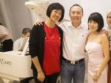 Pianovers Hours, Janelene, Yong Meng, Julia, and Desiree