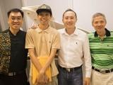 Pianovers Hours, Chris, Joseph, Yong Meng, and Albert