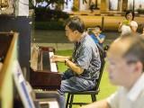 Pianovers Meetup #40, Chris Khoo, and Yong Meng performing