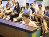 Pianovers Meetup #41, Yuxin performing for the crowds
