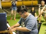 Pianovers Meetup #41, Zafri performing