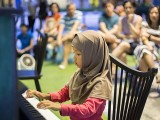 Pianovers Meetup #42, Mentari performing