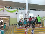 Arts Festival @ Zhonghua Primary School, Students at the Pianovers Meetup Booth