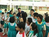 Arts Festival @ Zhonghua Primary School, Panoramic view of Concourse