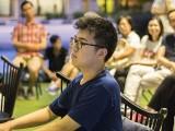 Pianovers Meetup #43, Zhi Yuan performing