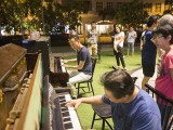 Pianovers Meetup #43, Teik Lee, and Gee Yong playing