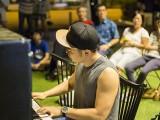 Pianovers Meetup #44, Joe performing