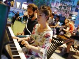 Pianovers Meetup #46, Mitch and Vanessa performing