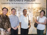 Pianovers Recital 2017, CP Teoh, Lee Chin Siang, David Karunadasa, Mrs David Karunadasa, and Gladdana Hu