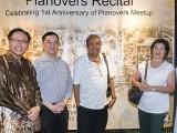 Pianovers Recital 2017, CP Teoh, Lee Chin Siang, David Karunadasa, Mrs David Karunadasa, and Gladdana Hu