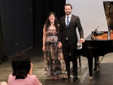 Pianovers Recital 2017, Vanessa Yu, and Mitchell Chapman performing #1