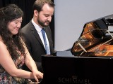 Pianovers Recital 2017, Vanessa Yu, and Mitchell Chapman performing #2