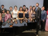 Pianovers Recital 2017, Group picture of performers