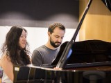 Pianovers Meetup #49 (Suntec), Vanessa and Mitch performing