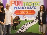 Pianovers Meetup #49 (Suntec), Patricia, Yong Meng, Nadrah, and Mai