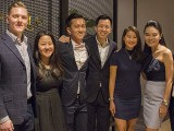 Steinway Gallery Singapore Soft Opening 18 Sep 2017, Benjamin, Lydia, Dennis, Zach, Sammy, Celine, and Andrew