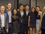 Steinway Gallery Singapore Soft Opening 18 Sep 2017, Yong Meng, Benjamin, Lydia, Dennis, Zach, Sammy, Celine, and Andrew