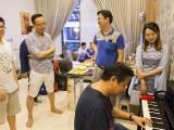 Pianovers Meetup #51 (Mooncake Themed), Junn, Zhi Yuan, Teik Lee, Zensen, Gladdana, and Gee Yong