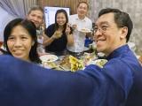 Pianovers Meetup #51 (Mooncake Themed), May Ling, Albert, Elyn, Yong Meng, and Chris