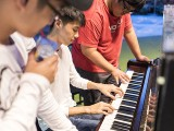 Pianovers Meetup #52, Aisham, Choon Qi, and Zafri